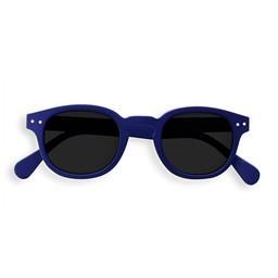 Izipizi Izipizi - Lunettes de Soleil Junior Retro C, Bleu Marin