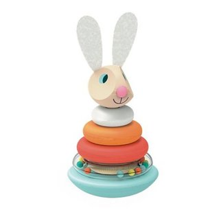 Janod Janod - Roly Poly Rabbit Stacker