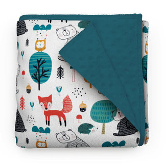Olé Hop Olé Hop - Minky Blanket, Forest Stroll