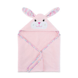 Zoocchini Zoocchini - Hooded Baby Bath Towel, Beatrice the Bunny