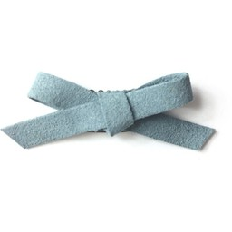 Baby Wisp Baby Wisp - Mini Latch Faux Suede Bow