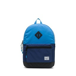 Herschel Herschel - Heritage Backpack Kids, Reflective Alaskan Blue, Medieval Blue and Black