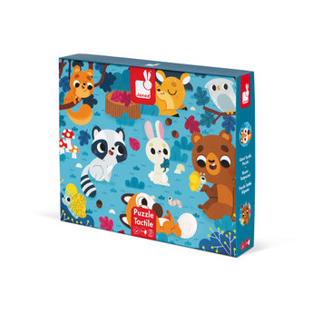 Janod Janod - Giant Tactile Puzzle, Forest Animals