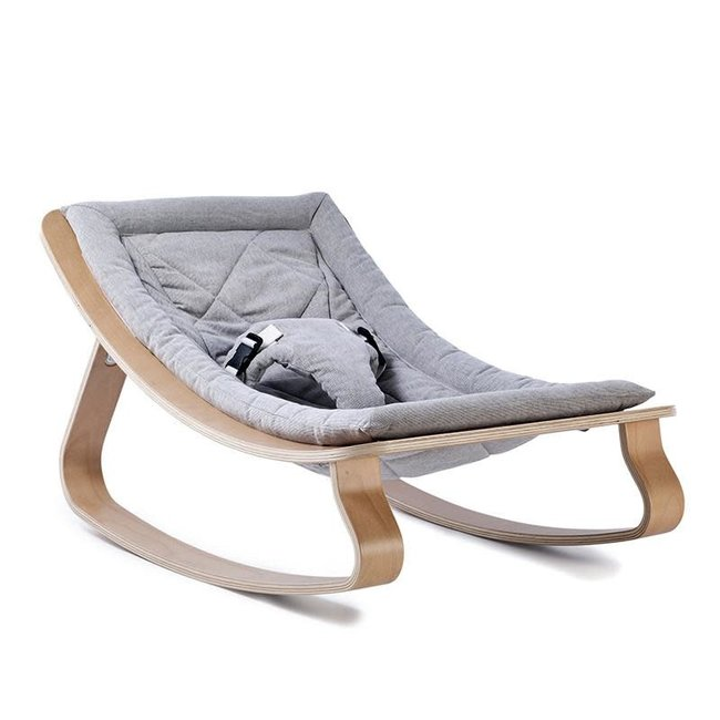 Charlie Crane Charlie Crane - Rocker Levo, Sweet Grey Cushion