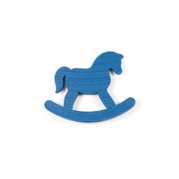 Bulle Bijouterie Bulle Bijouterie - Jouet Doudou Cheval, Bleu Saphir