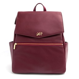 Freshly Picked Freshly Picked - Classic Diaper Bag, Burgundy
