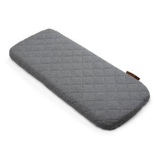 Bugaboo Bugaboo - Bugaboo Merino Wool Mattress Cover, Grey Mélange