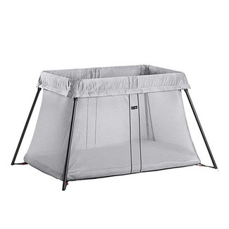 BabyBjörn BabyBjörn - Lightweight Travel Crib, Silver