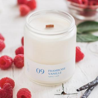 Flambette Flambette - 8oz Candle, Raspberry and Vanilla