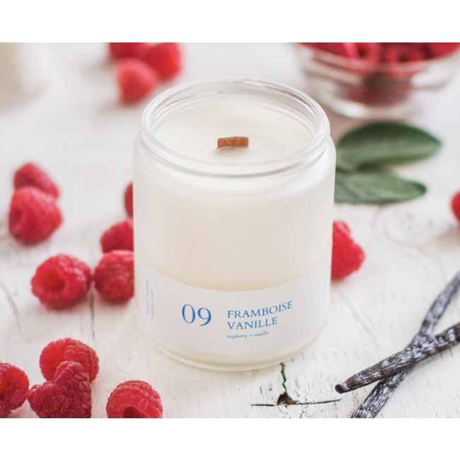 Flambette Flambette - 8oz Candle, Raspberry and Vanilla