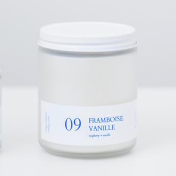 Flambette Flambette - Bougie 8oz, Framboise et Vanille