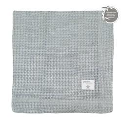Perlimpinpin Perlimpinpin - Bamboo Knitted Blanket, Grey