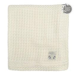 Perlimpinpin Perlimpinpin - Bamboo Knitted Blanket, Ivory