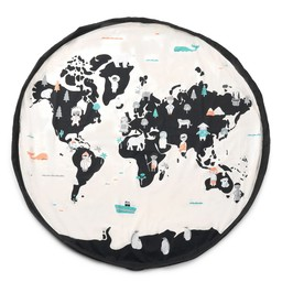 Play & Go Play & Go - Sac de Rangement et Tapis de Jeu , Carte du Monde