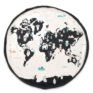 Play & Go Play & Go - Storage Bag and Activity Mat, World Map