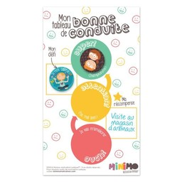Minimo Minimo - Motivation Set, My Good Behavior Board