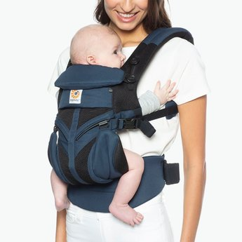 Ergobaby Ergobaby - Omni 360 Cool Air Baby Carrier, Raven Mesh