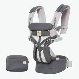 Ergobaby Ergobaby - Omni 360 Cool Air Baby Carrier, Carbon Grey Mesh