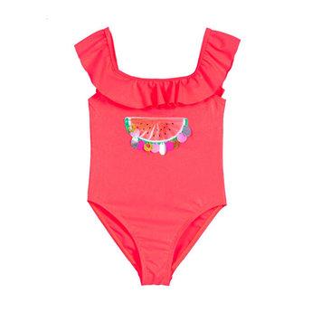 Billieblush BillieBlush - Watermelon Bathing Suit, Fluo Pink