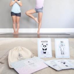Yogimini Yogimini - Jeu de Cartes de Yoga pour Enfants