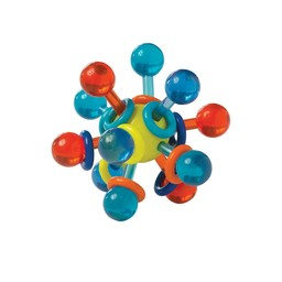 Manhattan Toy Manhattan Toy - Transparent Atom Teething Toy