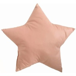 The Butter Flying The Butter Flying - Coussin Décoratif, Étoile Terracotta