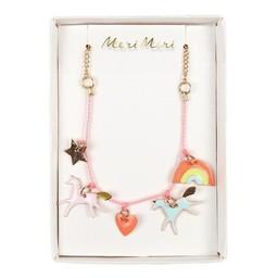 Meri Meri Meri Meri -Unicorn Enamel Necklace