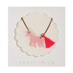 Meri Meri Meri Meri - Unicorn with Tail Necklace