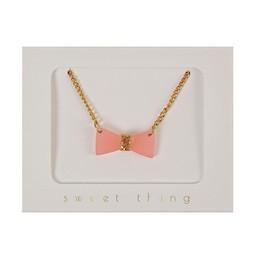 Meri Meri Meri Meri - Glitter Bow Necklace