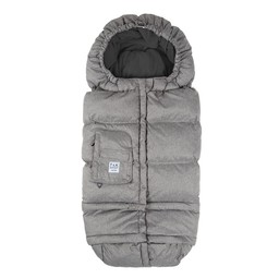 7 A.M 7AM - Enveloppe Hivernale Blanket 212 Évolution / Blanket 212 Evolution Footmuff, Gris Chiné (Gris)/Heather Grey (Grey)