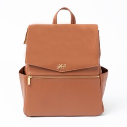 Freshly Picked Freshly Picked - Classic Diaper Bag, Cognac