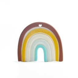 Loulou Lollipop Loulou Lollipop - Teether Toy, Neutral Rainbow