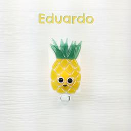 Veille Sur Toi Veille Sur Toi - Glass Nightlight Pineapple Eduardo