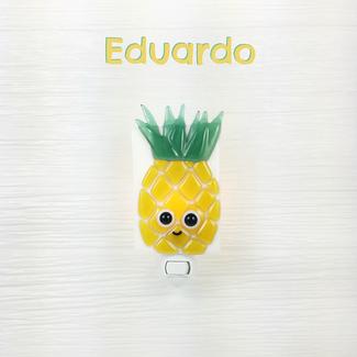 Veille Sur Toi Veille Sur Toi - Veilleuse en Verre Eduardo L'Ananas