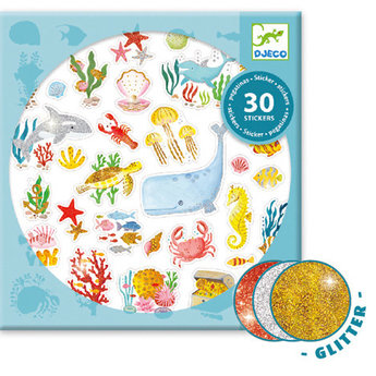 Djeco Djeco - Stickers, Aqua Dream