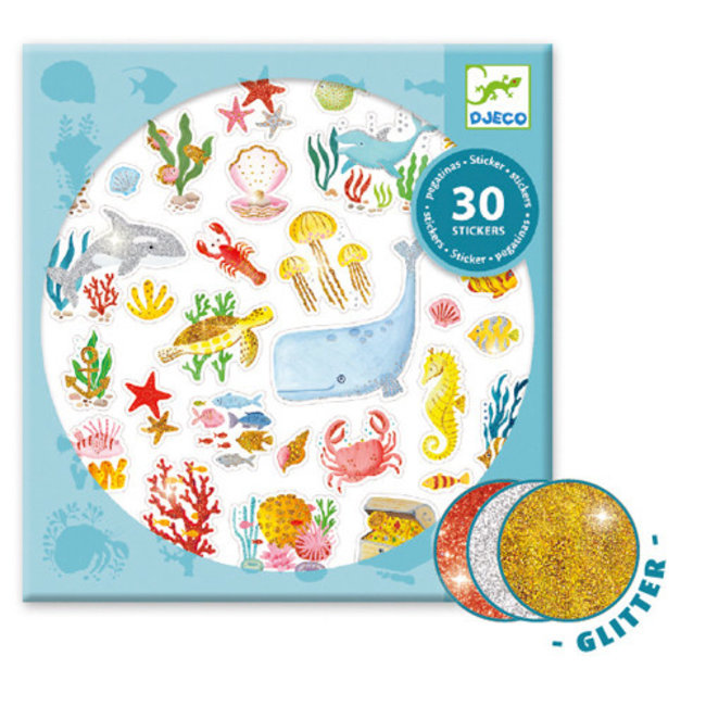 Djeco Djeco - Stickers, Aqua Dream