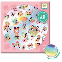 Djeco Djeco - Autocollants, Lovely Rainbow