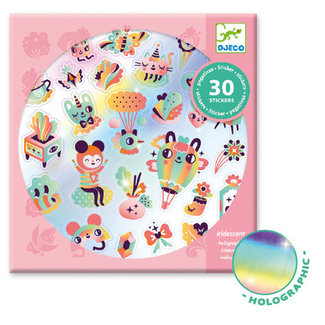 Djeco Djeco - Stickers, Lovely Rainbow
