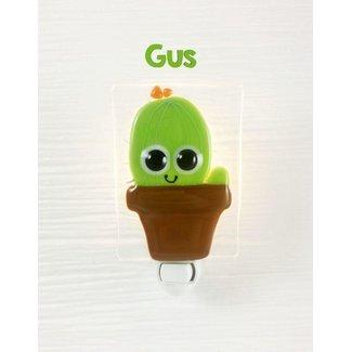 Veille Sur Toi Veille sur Toi - Veilleuse en Verre Gus le Cactus
