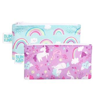 Bumkins Bumkins - Reusable Snack Bag 2 Pack, Unicorn