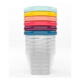 Babymoov Babymoov - Set of 6 Babybowls, 6oz, Assorted Colors