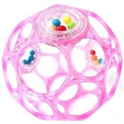 Oball Oball - Balle Hochet /Rattles, Rose/Pink