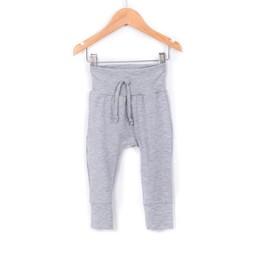 Zak et Zoé Zak et Zoé - Grow With Me Harem Pants, Light grey