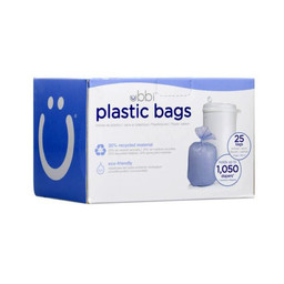 Ubbi Ubbi - Plastic Bags, Pack of 25