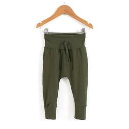 Zak et Zoé Zak et Zoé - Grow With Me Harem Pants, Emerald Green, 2-4 years