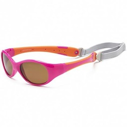 Koolsun Koolsun - Flex Sunglasses, Hot Pink Orange