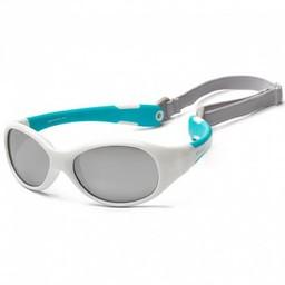 Koolsun Koolsun - Flex Sunglasses, White Aqua