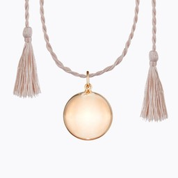 Ilado Ilado - Joy Maternity Necklace, Rose Gold Silk Cord