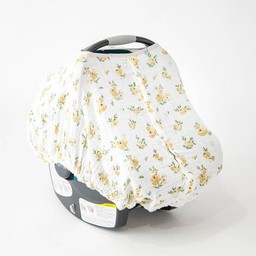 Little Unicorn Little Unicorn - Car Seat Canopy, Yellow Rose