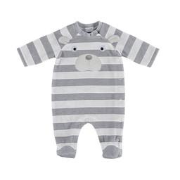 Mayoral Mayoral - Striped Velvet Pajama